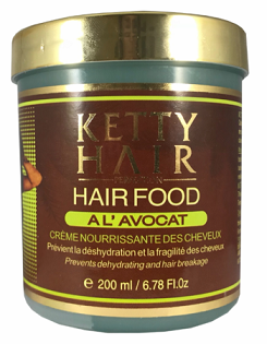 Ketty Hair Food with Avocado