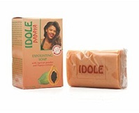IDOLE Papaya Exfoliating Soap With Apricot Powder And Papaya Extract 7 oz