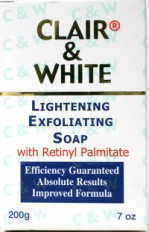 Clair And White Lightening Exfoliating Soap