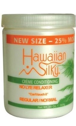 Hawaiian Silky Crème Conditioning No Lye Relaxer (20 oz)